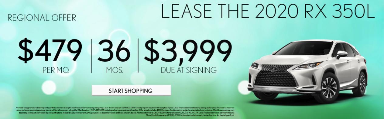 Lexus Specials May