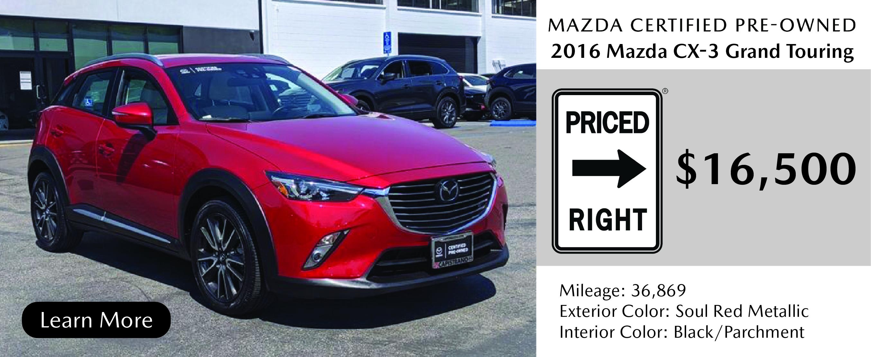 2020 Mazda CX-3 Grand Touring