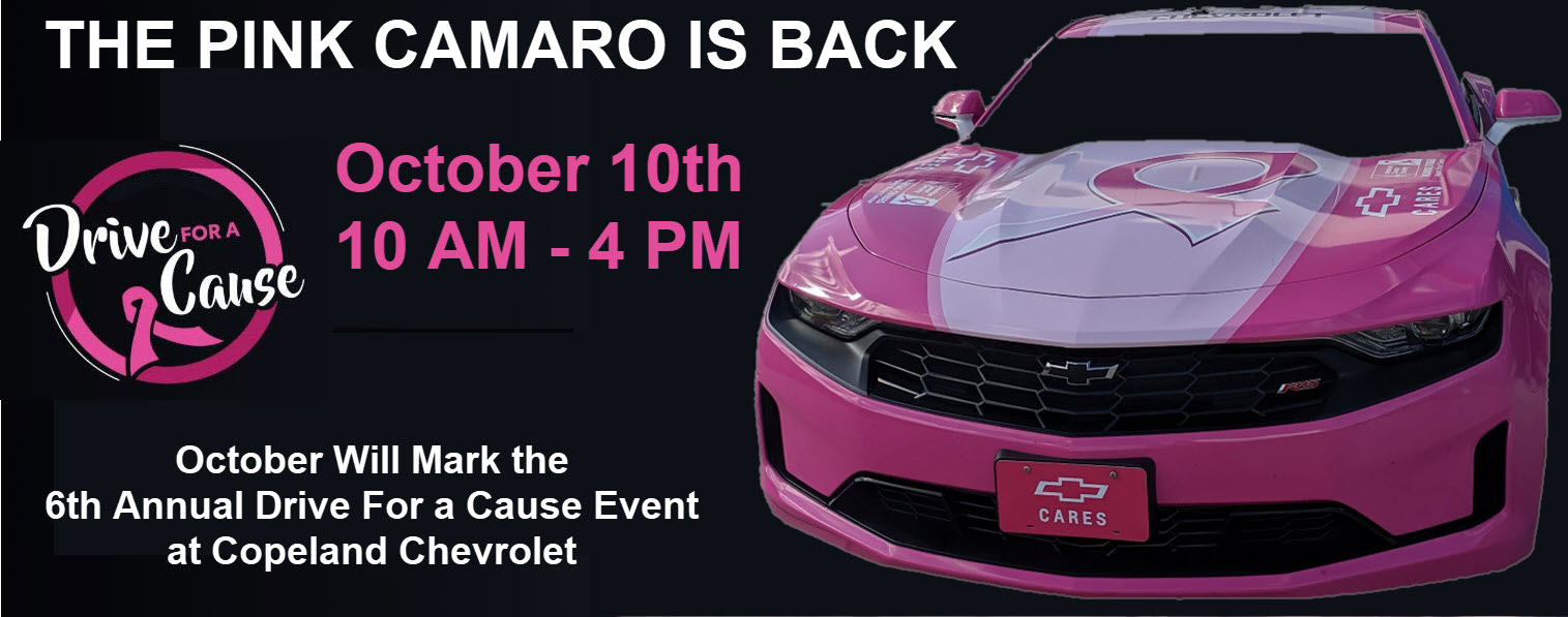 The Pink Camaro is Back