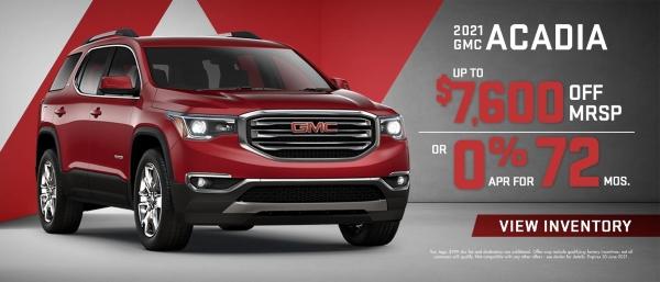 2021 GMC Acadia Special