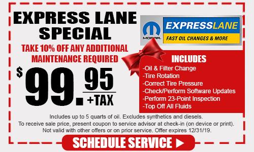 Express Lane Special