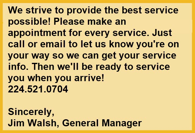 Service Message