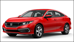 Lease Offer to Love: New 2020 Honda Civic Sedan LX