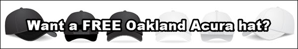 Get an Oakland Acura Hat