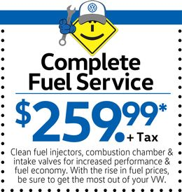 Complete Fuel Service for $259.99+Tax