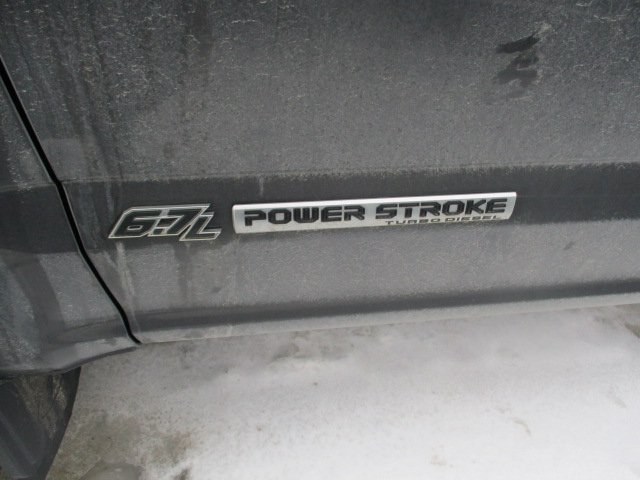 2017 Ford SUPER DUTY F-25 4WD CREW CAB 6.75