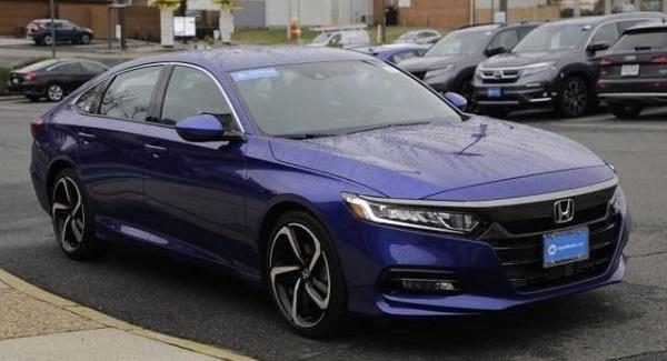 Certified 2019 Honda Accord Sport