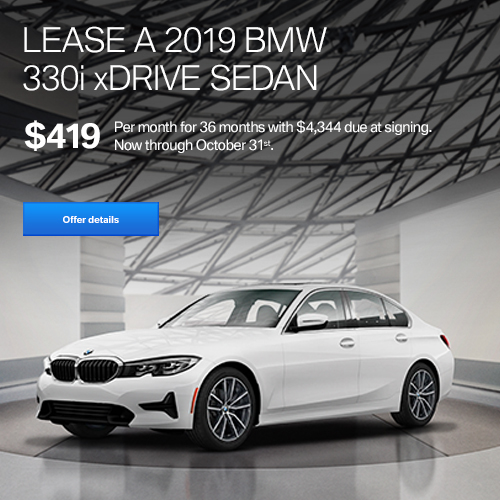 BMW Lease Oct 2019