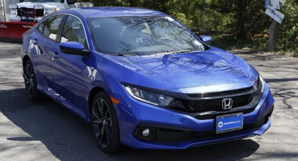 Certified 2019 Civic Sport