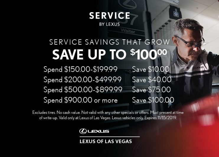 Save up to $100 | Spend More, Save More