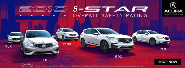 Acura 5-Star Overall Security Rating