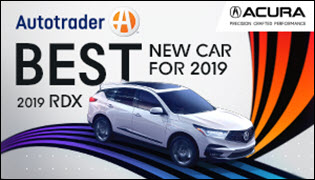 The New 2019 Acura RDX is a 2019 Best New Car