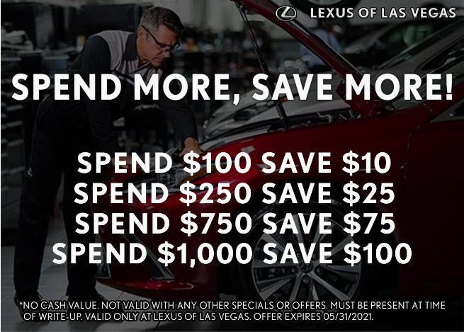Spend More, Save More