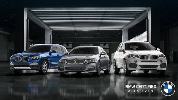BMW Certified Sales Event