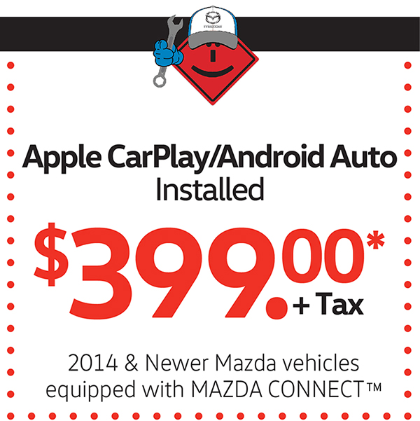 Apple CarPlay/Android Auto Installed