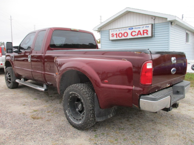 2008 Ford Super Duty F-350 DRW Lariat