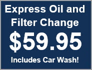 Coupon - Express Oil and Filter Change with Car Wash