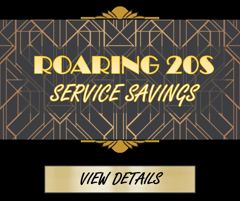 Roaring 20s Service Savings - 1