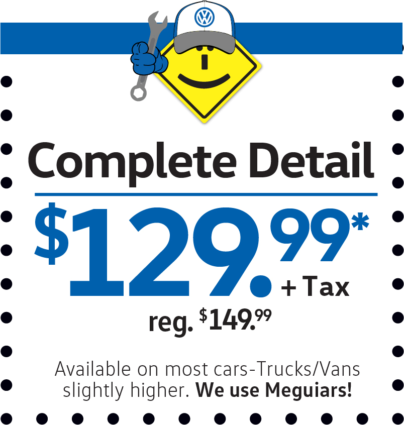 Complete Detail $129.99+Tax