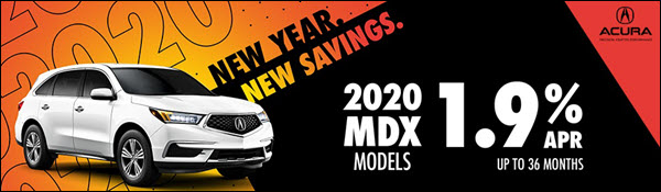 New Year, New Savings on a 2020 Acura MDX