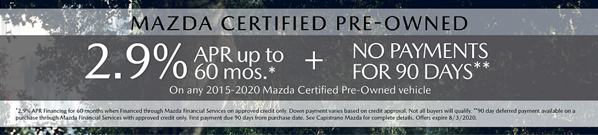 Mazda CPO Special