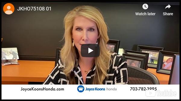 Joyce Koons Honda COVID-19 Update