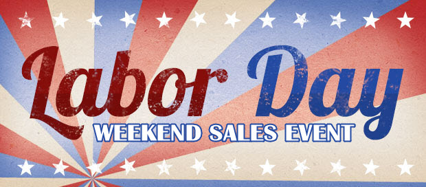 Labor Day Weekend Savings