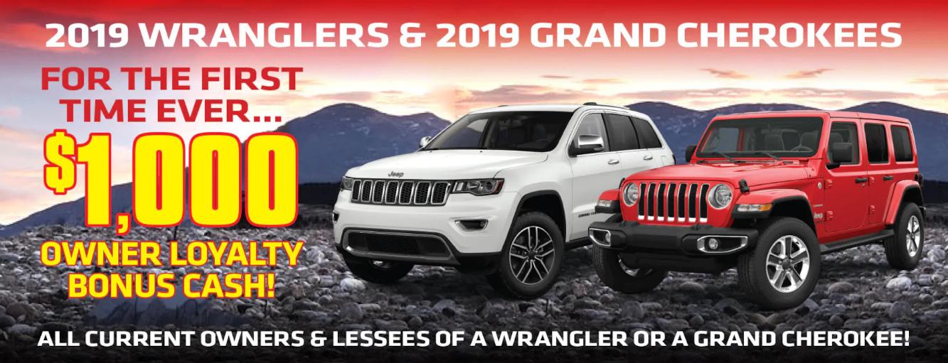 Jeep Loyalty Cash