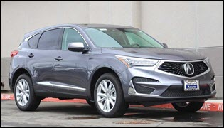 Amazing Offer: New 2020 Acura RDX Loyalty/Conquest Lease Special