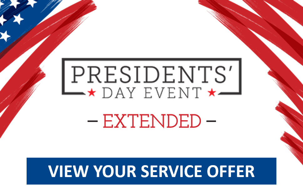 Presidents' Day Service - Offer 1