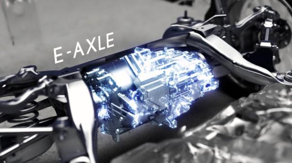 Lexus DIRECT4 E-AXLE