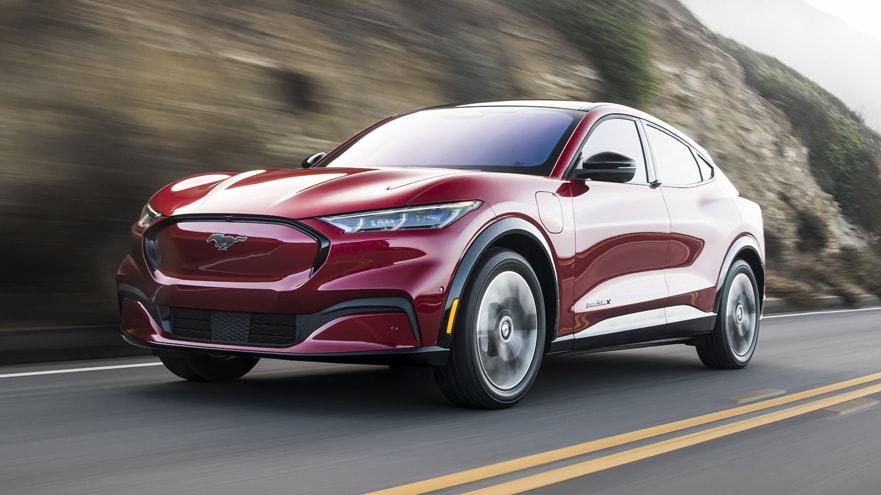 2021 Ford Mustanf Mach-E
