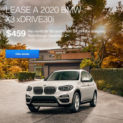 BMW November Lease