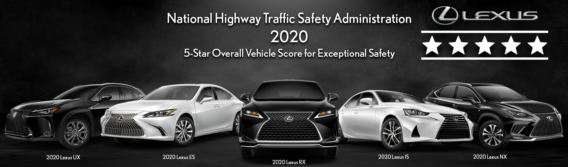 5-Star Overall Vehicle Score for Exceptional Safety