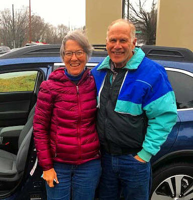 Customers of the Month - Bill and Mary