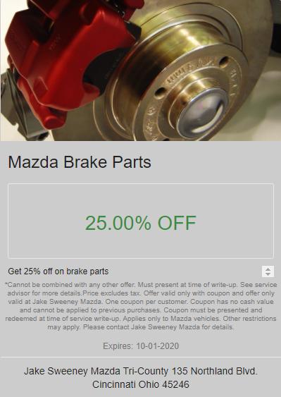 Mazda Brake Parts