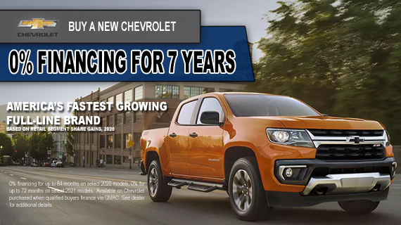 Save On Your Next Chevrolet