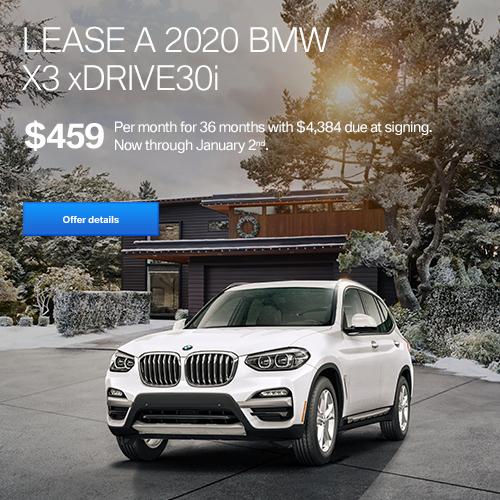 BMW Lease December