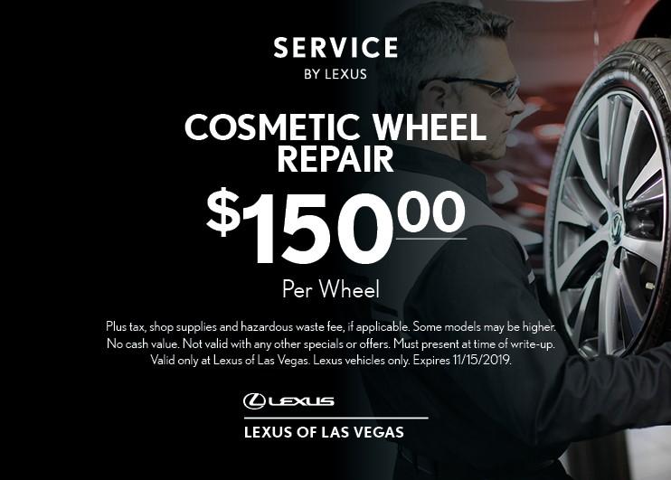 Cosmetic Wheel Repair | $150 Per Wheel