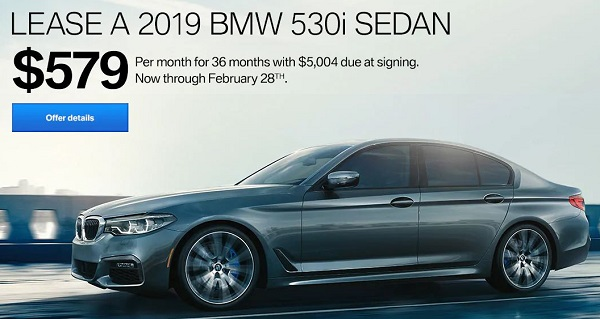 See The 2019 BMW 530i