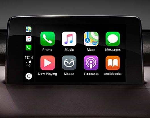 Mazda Apple CarPlay and AndroidAuto