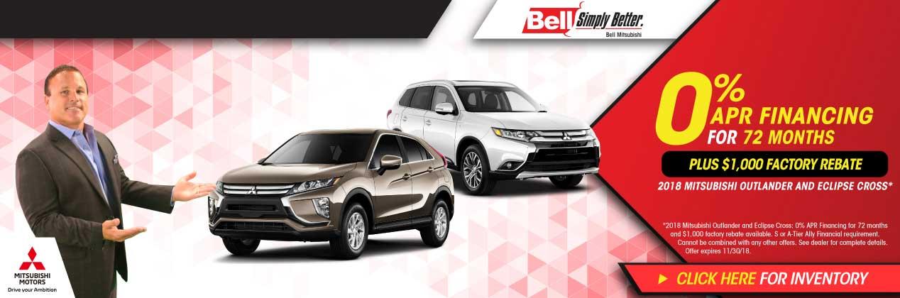 Mitsubishi Dealer Nj >> Bell Mitsubishi - New and Used Cars, Parts and Service ...