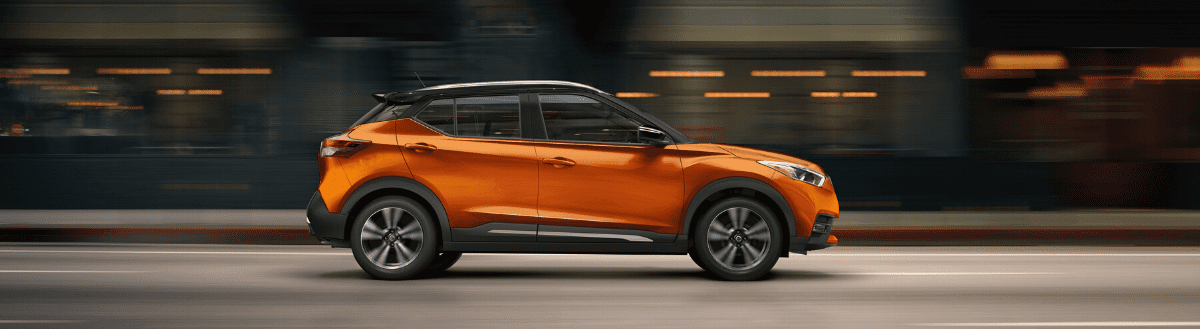 Exterior image of the 2020 Nissan KICKS™