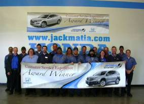 Service Department Jack Matia Honda