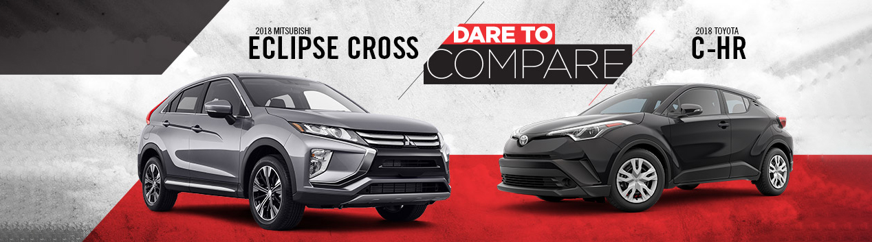 Mitsubishi Eclipse Cross vs. Toyota C-HR | Tom Hodges Mitsubishi | Hollywood, MD