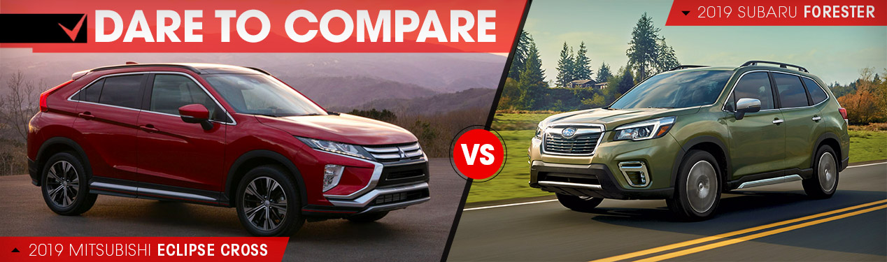 2019 Mitsubishi Eclipse Cross vs. 2019 Subaru Forester | Beckley, WV