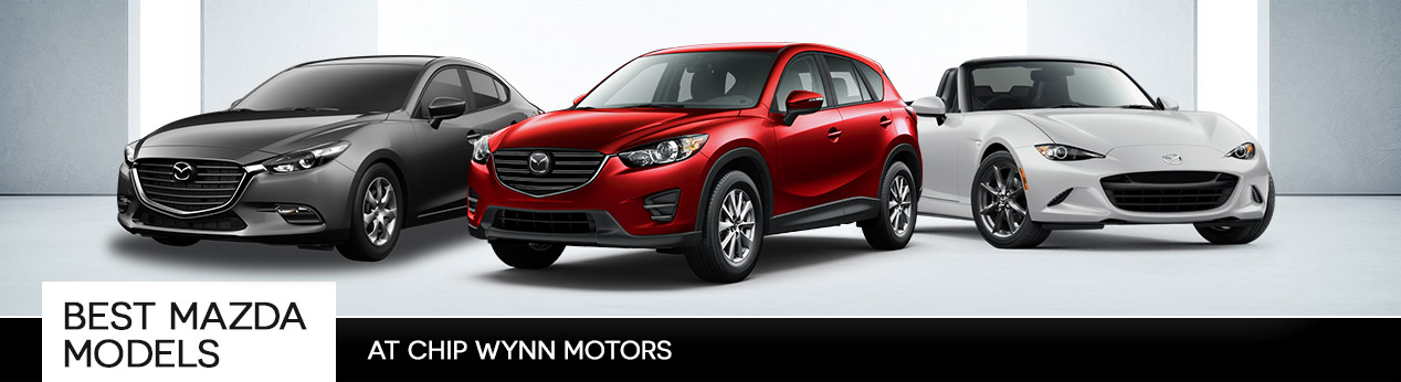 Best Mazda Models at Chip Wynn Motors in Paducah, KY