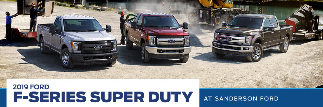 2019 Ford F-Series Super Duty | Sanderson Ford | Phoenix, AZ