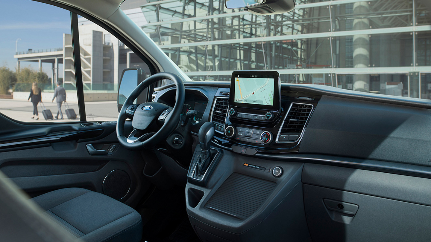 Interior of the Tourneo Custom PHEV