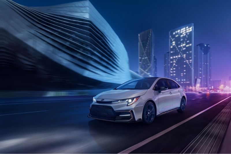 2021 Toyota Corolla exterior in Toronto, ON